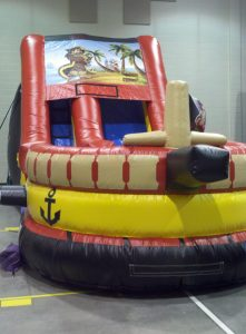 Treasure Island Pirate Inflatable Slide Rental