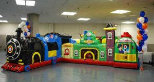 Thomas The Train Inflatable Rentals