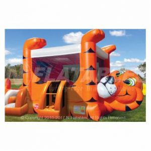 Tiger Belly Bouncer Jump and Slide Combo Rental