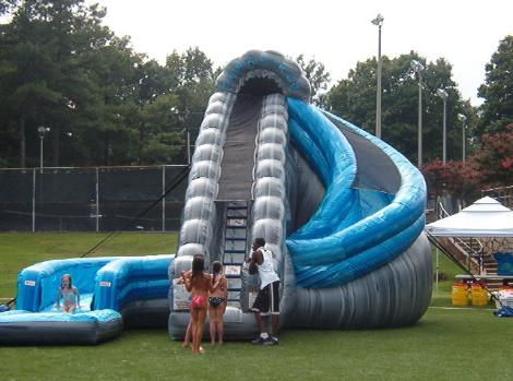 Corporate Event Inflatable Water Slide