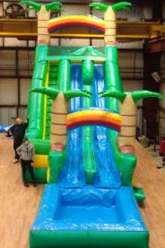 Luau Giant Inflatable Water Slides