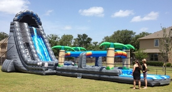 Giant Water Slide Corporate Event Rentals