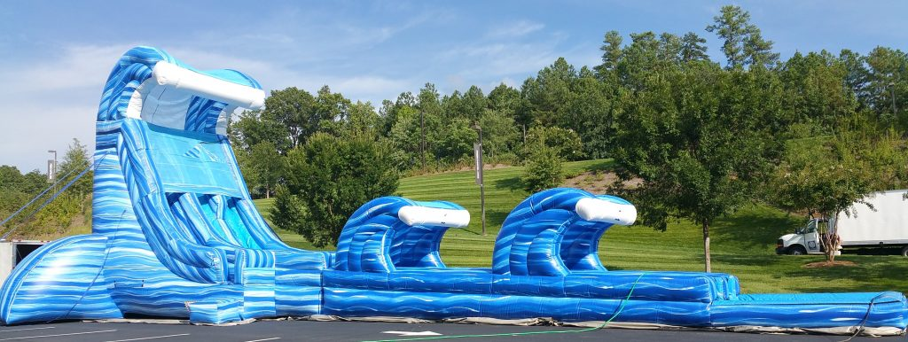 Giant Water Slide Rentals for Corporate Events