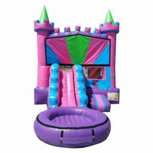 Combo Bounce House Water Slide