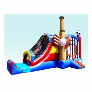 Sports Inflatable Bouncer Combo Rental