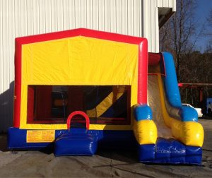 5 in 1 Jump and Slide Inflatable Combo