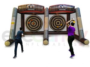 Axe Throwing Game Lumberjack Attack Inflatable