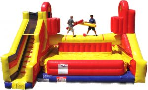 Battlezone Jousting Inflatable Game Rentals