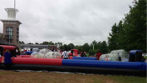 Bumper Ball Inflatable Rental