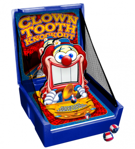 Clown Tooth Knock Out Carnival Game Rentals