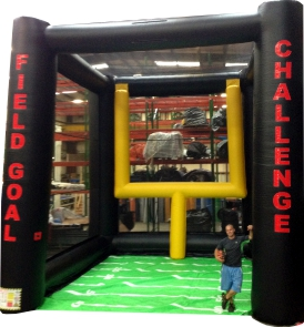 Field Goal Challenge Inflatable Football Game