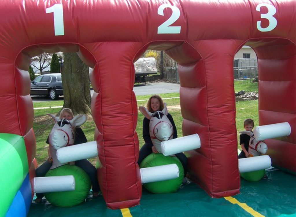 Fun Derby Pony Hop Inflatable Rental