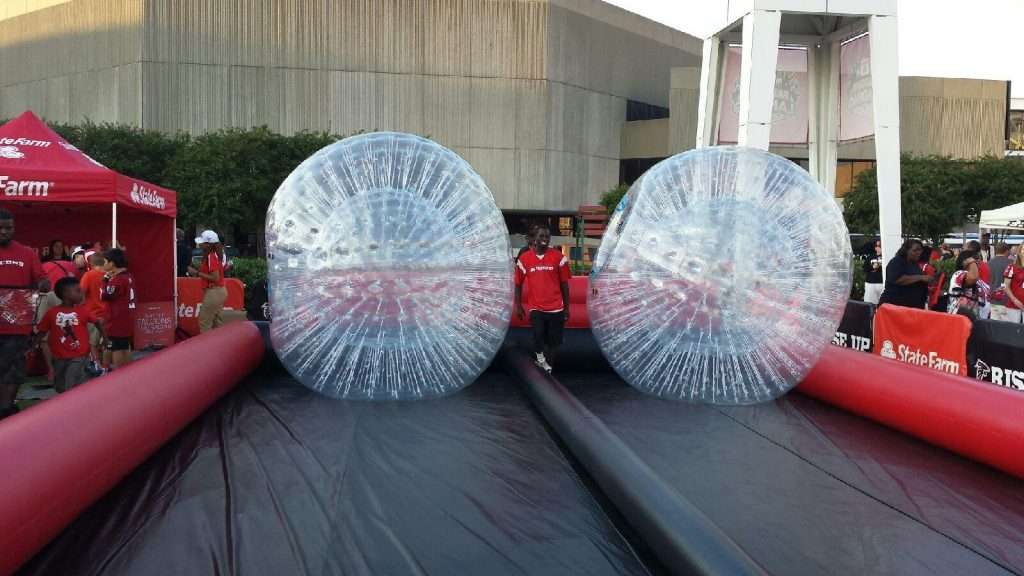 Hamster or Zorb Ball Inflatable Game Rental