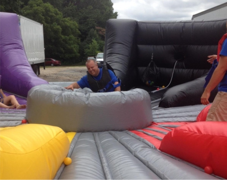 Hippo Chow Down or Hippomania like Hungry Hippos Inflatable Style!
