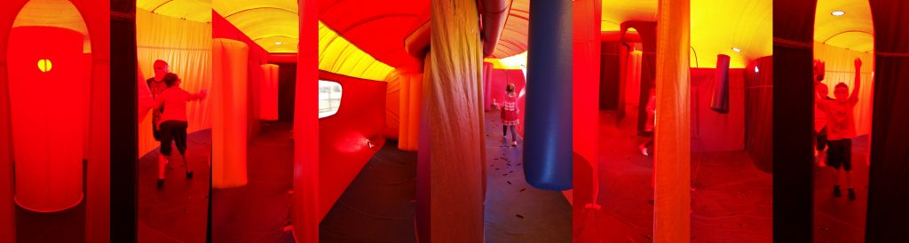 Nerf or Laser Tag Inflatable Interactive Rental