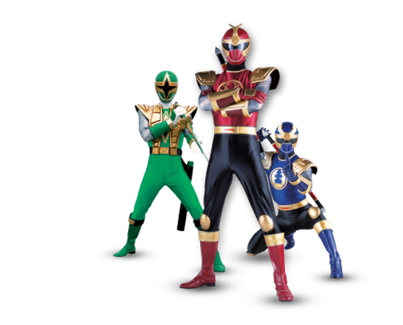 Power Ranger Super Hero Inflatables