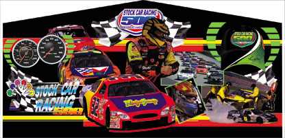 Race Car Inflatables to rent!