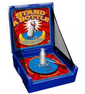 Stand a Bottle Carnival Game Rentals
