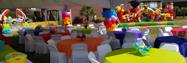 Tents, Tables, and Chair Rentals