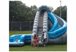 Water Slide Rentals for church, school, and corporate events and parties of all kinds