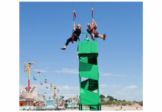 Corporate Event Planner with Corporate Event Ideas like Zipline Rentals for Corporate Events, Church Spring and Fall Festivals, School Carnivals, Fundraisers, College Events, Backyard Parties, Birthday Parties, and Parties of all kinds!