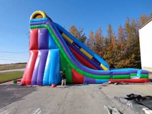 Giant Inflatable Slide Rental