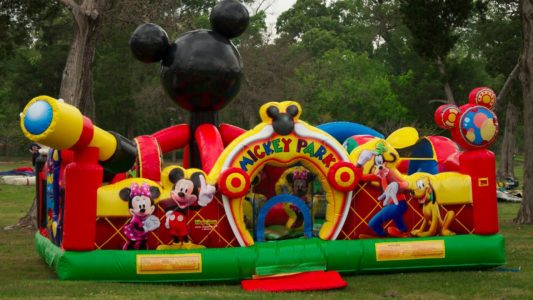 Mickey Park Toddler Inflatables