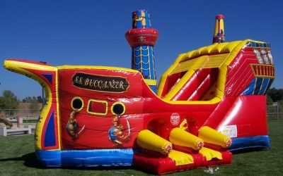 Pirate Ship Inflatable Rental