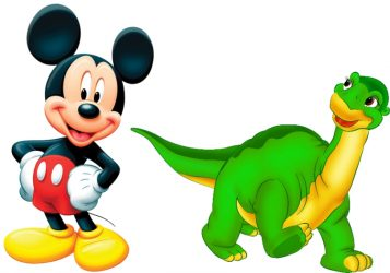 Dinosaur, Mickey Mouse, Minnie Mouse, Unicorn Themed Inflatables