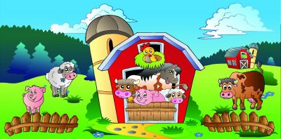 Farm Animal bouncers