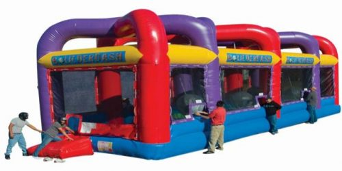 Boulder Dash Carnival Event Obstacle Course Rentals