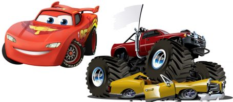 Disney Cars, Blaze, Monster Trucks, Tractors, Race Cars, Transformers Themed Inflatables