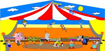 Circus or Carnival Jump house rental