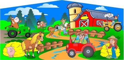 Farm Animal or Peppa The Pig Bouncer Rentals