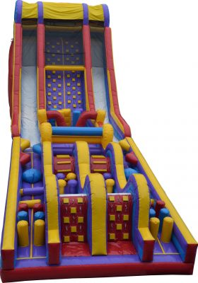 Giant Rush Event Obstacle Course Rental