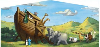 Noah's Ark Moonwalks for your church festivals
