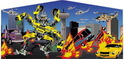 Robot Cars or transformers inflatable rentals