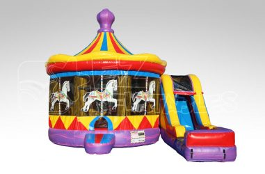 Carousel Inflatable Bouncer Rentals